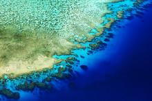 Coral Reef Crest Meets The Ocean (Lodestone Reef, Great Barrier Reef, Australia)