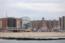 Landscape Of Coney Island, New York