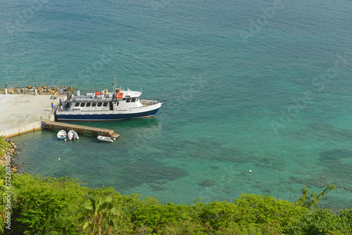 Photo Ferry at Long Bay in St. Thomas Island, US Virgin Islands, USA.