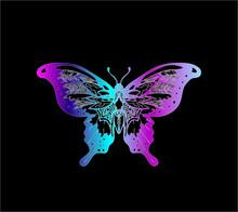 Gradient Butterfly Illustratio...