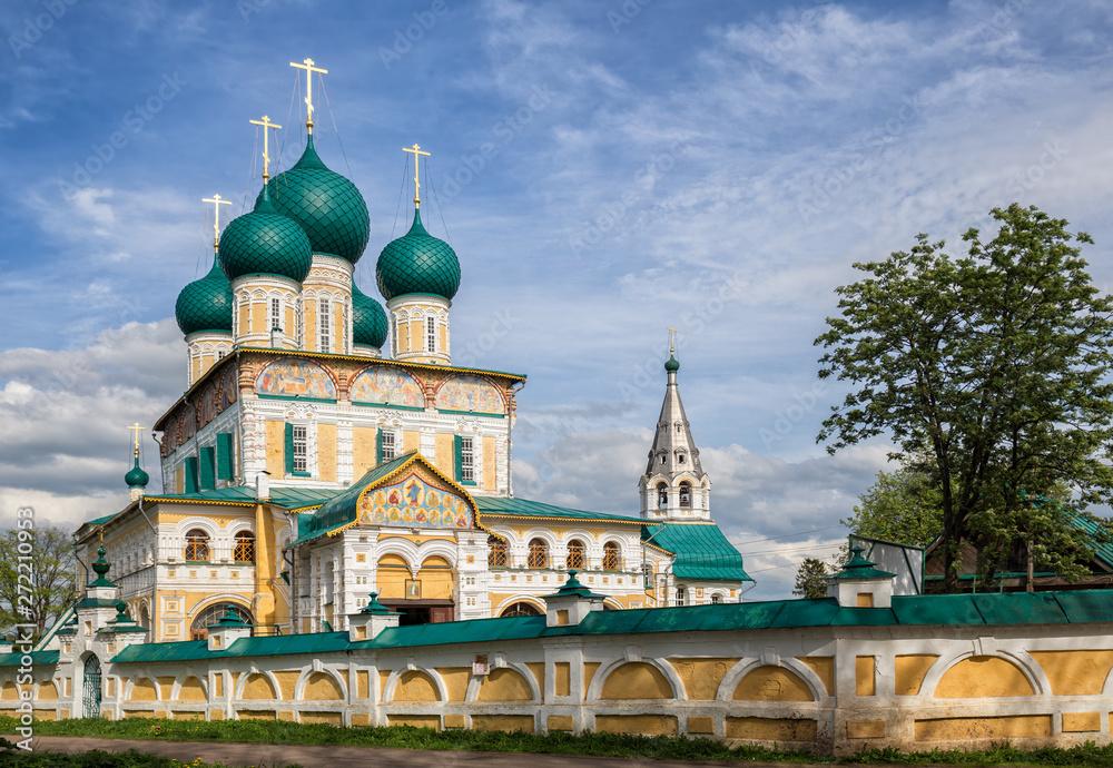 Fototapety, obrazy: Tutaev. Cathedral of the Resurrection of Christ