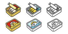Cat Vector Food Fish Can Tuna ...