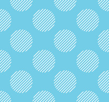 Dots Pattern With Stripe Insid...