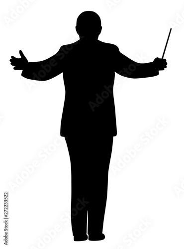 Music conductor Wallpaper Mural