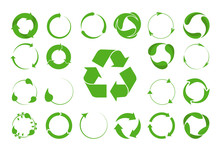Recycle Arrows Vector Set -eco...
