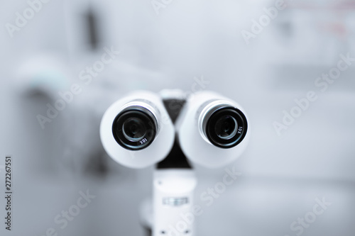 Fotografía Medical professional ophthalmologist equipment device slit lamp
