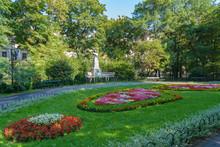 Planty Park Around Old Town, Krakow, Poland