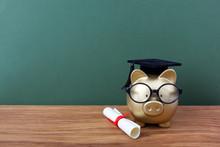 Gfold Piggy Bank With A Grad C...
