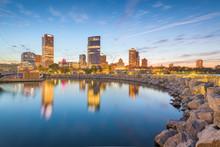 Milwaukee, Wisconsin, USA Down...