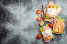 Fresh Ciabatta Sandwiches For ...