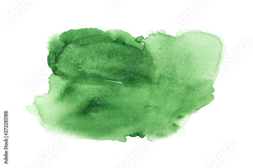 Green abstract background in watercolor style #272283188