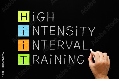 Photo HIIT - High Intensity Interval Training