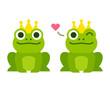 Cute frog prince