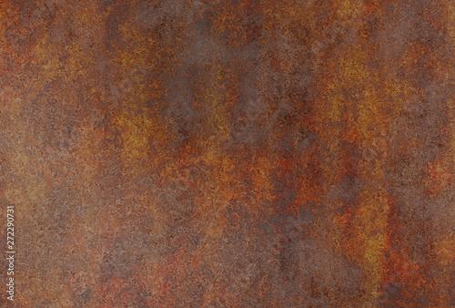 realistic rusty metal - 272290731