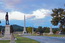Driving Tour At Gettysburg Nat...