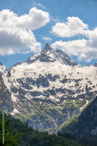 Photo Snowy mountain range in Austria: Loferer Steinberge