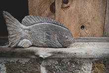Fish Carved From Stone (Sculpt...