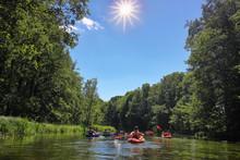 Mazury-rzeka Krutynia W Północno-wschodniej Polsce