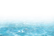 Blue Water surface, abstract background with a text field