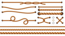 Set Of Isolated Straight Ropes...