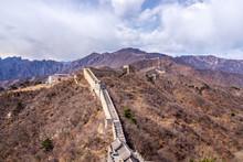 Great Wall Of China, Mutianyu Section Near Beijing