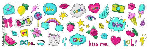 Photo  Doodle 90s stickers