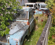 A Collection Of Old Rusty Land...