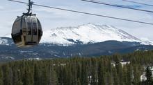 Gondoala Traveling Up Colorado Rocky Mountains