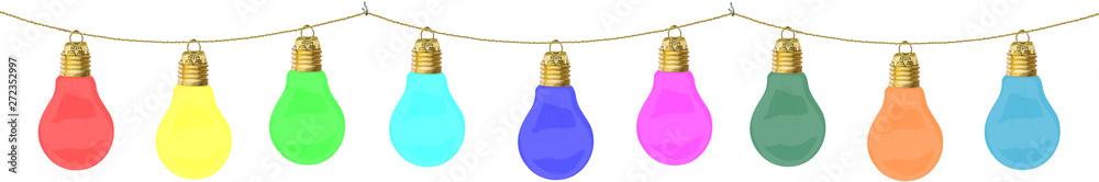 Valokuva  Guirlande d'ampoules