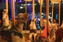 Carousel Or Merry Go Round Hor...
