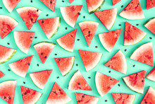 Watermelon Pattern. Red Waterm...