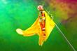 Leinwanddruck Bild - Gudi Padwa Marathi New Year, Indian Festival