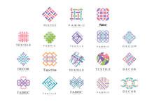 Textile, Fabric, Decor Logo De...