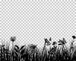 Meadow silhouette
