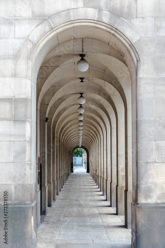 Obraz na płótnie kamienny korytarz w Manchesterze