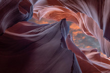 Antelope Slot Canyon Near Page In Arizona USA