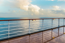 Wet Cruise Deck With Railing A...