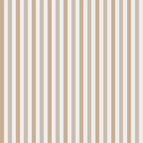 Brown and white vertical stripes, seamless pattern. Vector illustration. - 272381970
