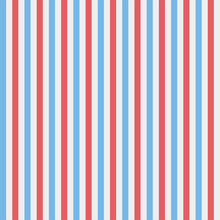 Red, Blue And White Vertical S...