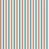 Vertical stripes, seamless pattern. Vintage style wallpaper. Vector illustration. - 272386736