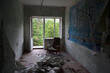 Ghost Town In Eastern Europe