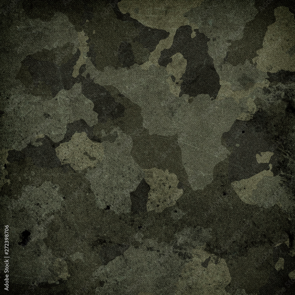 Fototapety, obrazy: Camouflage cloth texture. Abstract background and texture for design.