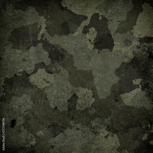 Fotografia, Obraz  Camouflage cloth texture
