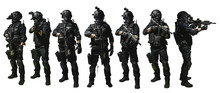 Special Forces Soldier Police,...