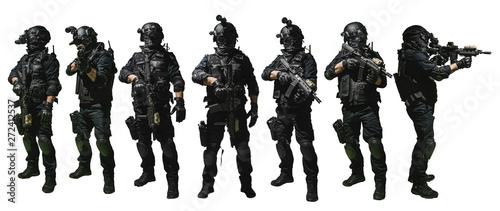 Fotografie, Obraz special forces soldier police, swat team member