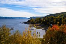 Saguenay River Shore At Atumn ...