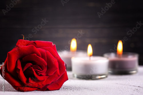 Canvas Print Mourning  background