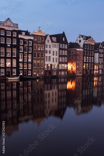 Recess Fitting Channel Canalhouses and reflections in Amsterdam