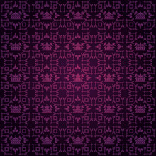 Wallpaper | Background Image | Purple Pattern
