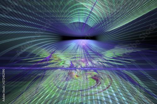Futuristic techno backgroun...